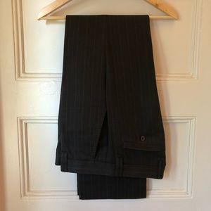 Zara Pinstripe Dress Pants